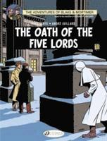 Blake &; Mortimer: v. 18 Oath of the Five lORDS (h�ftad)