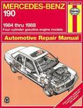 Mercedes-Benz 190 1984-88 Automotive Repair Manual