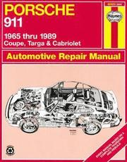 Porsche 911, 1965-89 Coupe, Targa and Cabriolet Automotive Repair Manual (h�ftad)