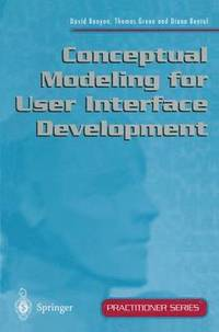 Conceptual Modeling for User Interface Development (inbunden)