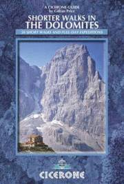 Shorter Walks in the Dolomites (h�ftad)