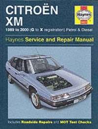 Citroen XM Service and Repair Manual (inbunden)