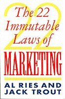 The 22 Immutable Laws of Marketing (inbunden)