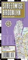 Streetwise Brooklyn Map - Laminated City Street Map of Brooklyn, New York: Folding Pocket Size Travel Map