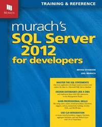 Murachs SQL Server 2012 for Developers (h�ftad)