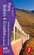 Peru, Bolivia &; Ecuador Handbook (h�ftad)