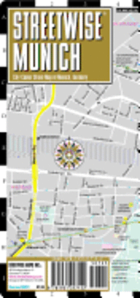 Streetwise Munich Map - Laminated City Street Map of Munich, Germany: Folding Pocket Size Travel Map