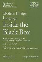 Modern Foreign Languages Inside the Black Box: Assessment for Learning in the Modern Foreign Languages Classroom (h�ftad)