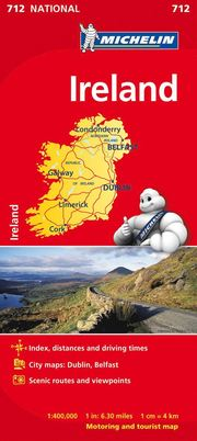 Ireland National Map 712