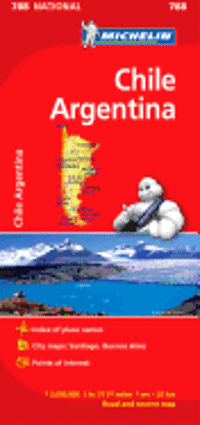 Michelin Chile/Argentina National Map