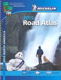 USA Canada Mexico 2015 A4 Spiral Atlas