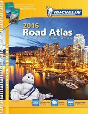 USA Canada Mexico 2016 Road Atlas