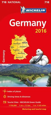 Germany 2016 National Map 718