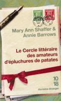 Le Cercle Litteraire Des Amateurs D'epluchures De Patates (pocket)