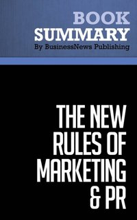 THE MARKETING OF NEW RULES PR AND