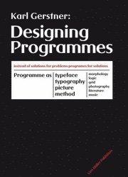Designing Programmes (inbunden)