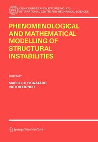 Phenomenological and Mathematical Modelling of Structural Instabilities (inbunden)