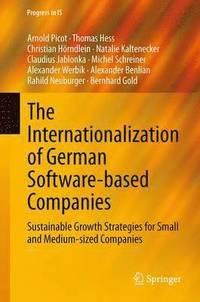 The Internationalization of German Software-Based Companies (inbunden)