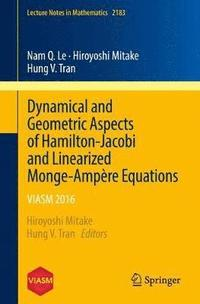 Dynamical and Geometric Aspects of Hamilton-Jacobi and Linearized Monge-Ampere Equations