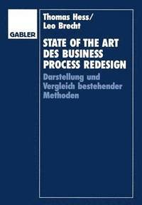 State of the Art Des Business Process Redesign (inbunden)