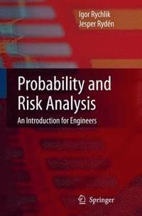 Probability and Risk Analysis (inbunden)