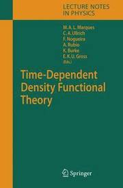 Time-Dependent Density Functional Theory (inbunden)