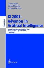 Ki 2001 Advances in Artificial Intelligence (h�ftad)