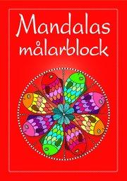 Mandalas målarblock