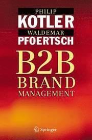 B2B Brand Management (h�ftad)