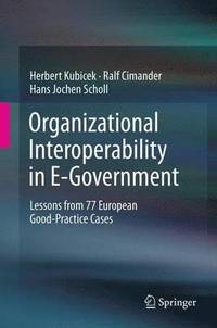 Organizational Interoperability in E-Government (h�ftad)