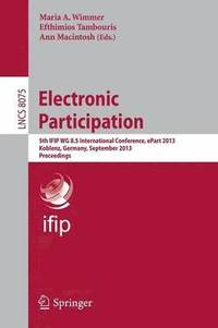 Electronic Participation (h�ftad)