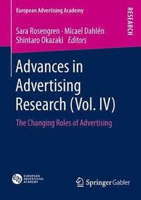 Advances in Advertising Research: Vol. IV (h�ftad)