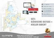Sportbootkarten Satz 1 4 und 5 – Set: Dänische Ostsee und Kieler Bucht (Ausgabe 2017)