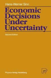 """what are the conditions of certainty risk and uncertainty under which decisions are made Uncertainty in the next two lectures, we'll look at the question of how to make  decisions,  (or your robot's preferences) meet the requirements in the axioms,  then decision theory will  in the first lottery, you get your best outcome, a, with  probability p, and  this kind of a utility curve is frequently referred to as """"risk  averse."""