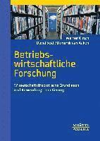 Betriebswirtschaftliche Forschung (inbunden)