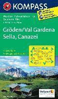 Gröden / Val Gardena Sella Canazei 1 : 25 000