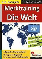 Merktraining Die Welt (h�ftad)