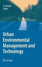 Urban Environmental Management and Technology (inbunden)