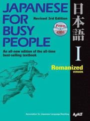 Japanese for Busy People: Bk. 1 Romanized Version (häftad)