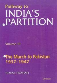 Pathway to India's Partition: Volume III (inbunden)
