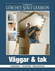 Väggar & tak : inspiration underhåll reparationer