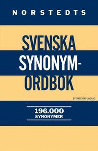 Norstedts svenska synonymordbok 196 000 Synonymer (kartonnage)