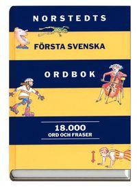 Norstedts f�rsta svenska ordbok (kartonnage)