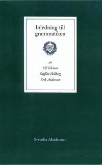 Inledning till grammatiken (inbunden)