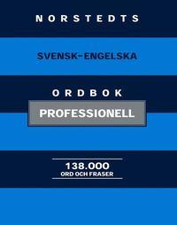 Norstedts svensk-engelska ordbok : professionell (inbunden)