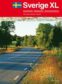 Sverige XL Atlas - 1:250000-1:400000 A3 Format (h�ftad)