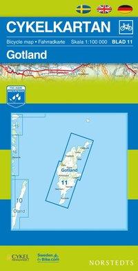 Cykelkartan Blad 11 Gotland (h�ftad)