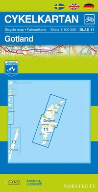 Cykelkartan Blad 11 Gotland : 1:100000 (h�ftad)