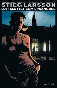 Luftslottet som spr�ngdes - En serieroman (h�ftad)