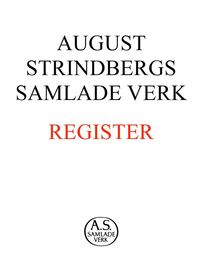 August Strindbergs samlade verk : register (inbunden)